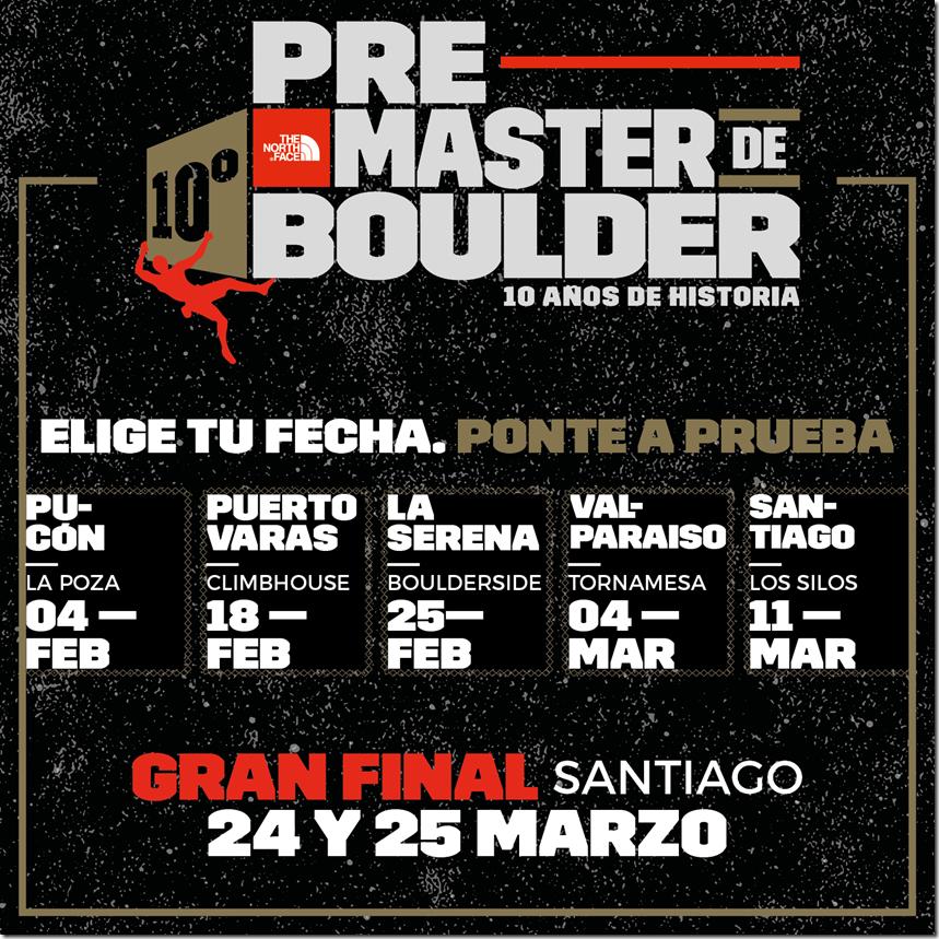 Afiche - Pre Master de Boulder