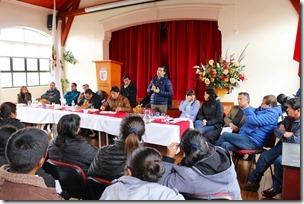 Vialidad junto a Servicios Públicos participa en constitución de Mesa de Trabajo con Comunidades Mapuche de Purén (1)