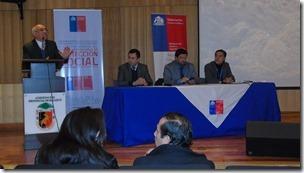 1 Conversatorio Exposición Autoridades Prensentes en Malleco
