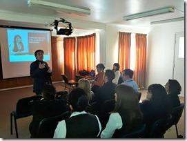 Prensetación director regional IPS Araucanía