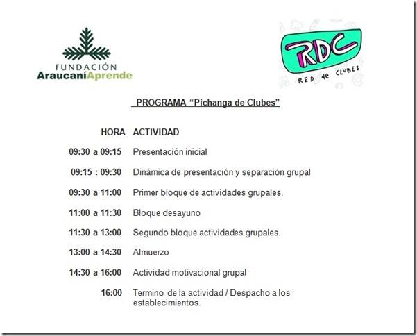 Programa Pichanga RdC 13.sept.2017