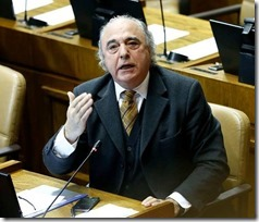 diputado García en el congreso