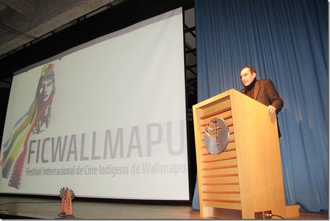 Director Inauguración FICWALLMAPU 2017
