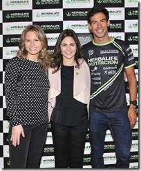 Soledad Onetto, Marisol Ahumada y Felipe Barraza