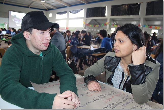 Los estudiantes fueron los protagonistas de la jornada, quienes mostraron todo lo aprendido en con las Redes de Tutoría