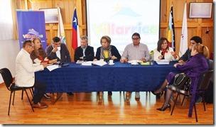 Comisión de Salud del Gobierno Regional de La Araucanía sesiona en Villarrica