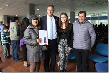 Ministro Felipe Ward y Seremi Natalia Rivera