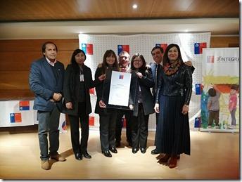 Seremis de Trabajo y Salud, director regional del IPS y funcionarios de ChileAtiende