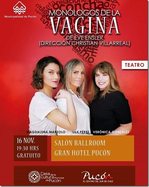 Afiche de obra teatral