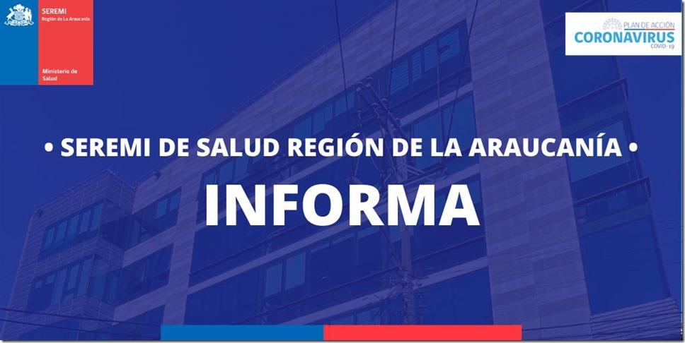 Informe Minsal Araucanía
