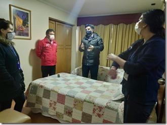 Residencia Covid Malleco