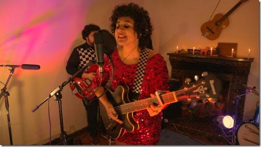 2. Cantante Kathy Erices Concierto desde Sala de Ensayo Sello Frontera Sur