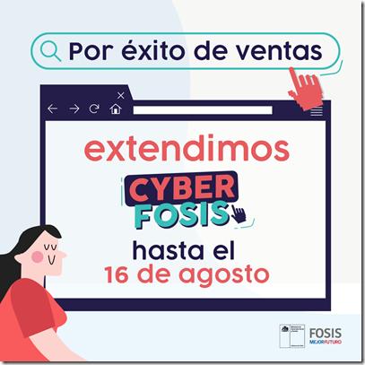 FOSIS-Cyber post nos extendimos fb
