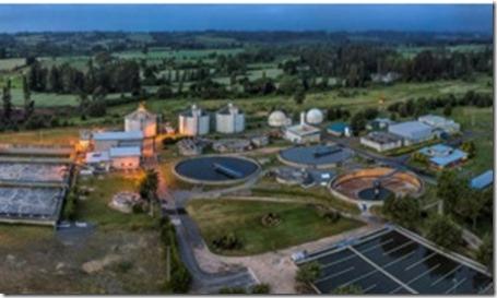 planta de tratamiento de aguas servidas de pucón