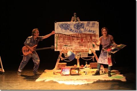 Retrospectiva Ñeque Teatral Concierto de colores