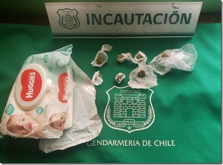 Intento ingreso droga CCP Temuco