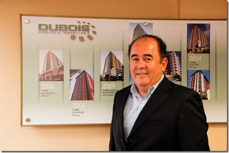 Lorenzo Dubois Enríquez, Director Gerente de Consorcio InmobiliarioDubois, Temuco (20)
