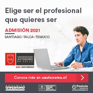 Admisión Universidad Autónoma de Chile 2021