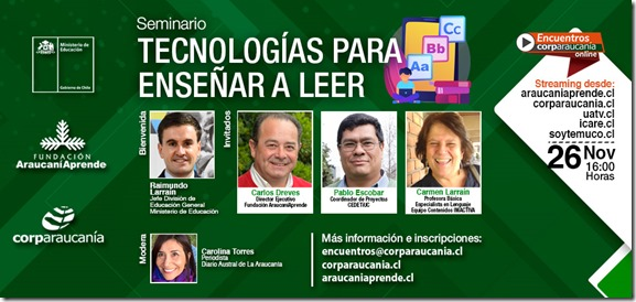 Banner Seminario Tecnología