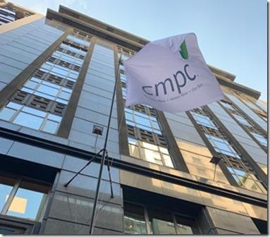 Foto corporativa bandera