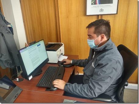 Director Regional IPS ChileAtiende, Joaquín Núñez en pagina www.chileatiende.cl