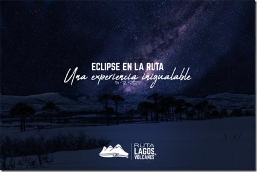 Foto nocturna ruta lagos y volcanes