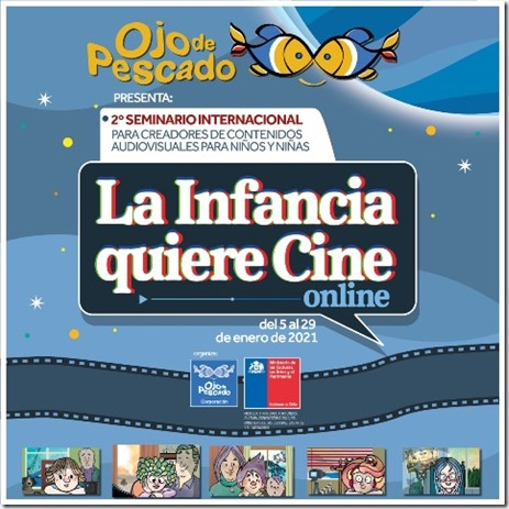 Afiche Seminario La Infancia quiere Cine