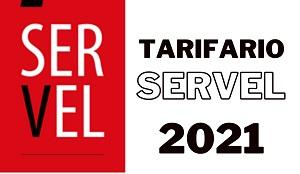 Publicidad Tarifas Servel