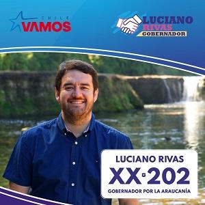 Luciano Rivas Gobernador