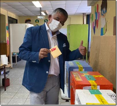 voto  MANUEL MACAYA