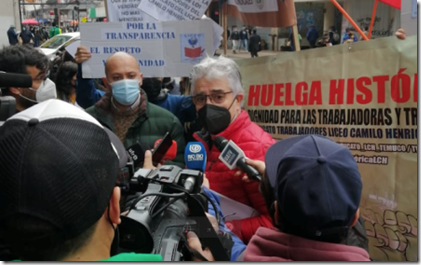 Sindicato Liceo Camilo Henríquez Huelga Legal 3