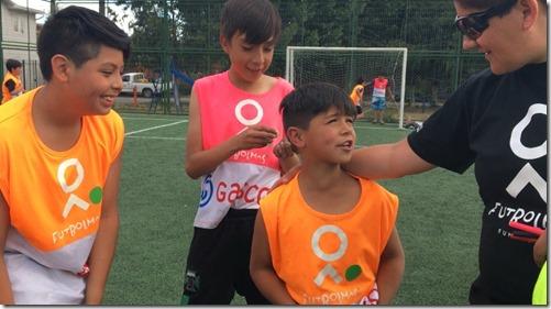Fundación Fútbol Más y Gasco programa social La Araucanía