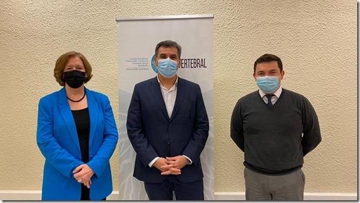 Rosemarie Junge,Roberto Rubilar, Leopoldo Ramírez